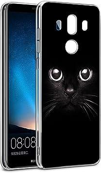 Funda Huawei Mate 10 Pro, Eouine Cárcasa Silicona 3D Transparente ...