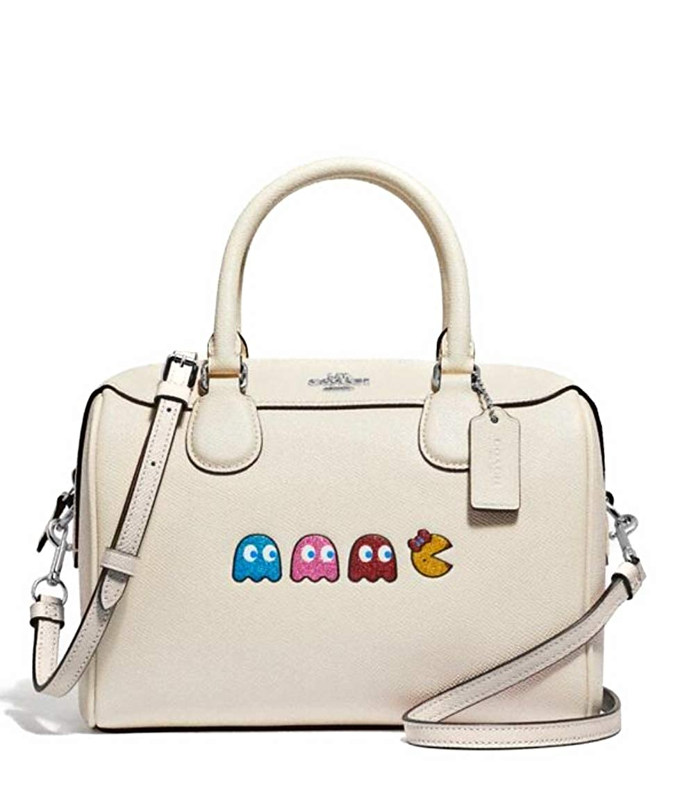 Amazon.com: Coach 72907 Mini Bennett Satchel with Ms. Pacman ...