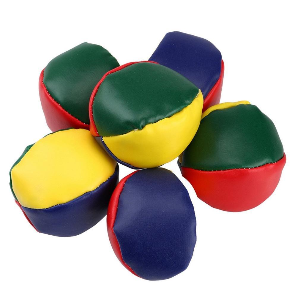 YJYdada 5X Magic Circus Juggling Balls Classic Bean Bag Juggle Beginner Kids Toy