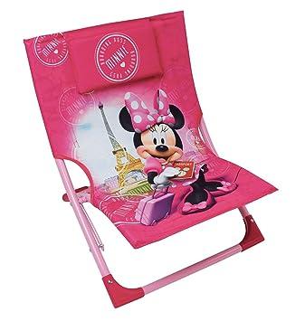Fun House 712890 Disney Minnie Silla/Silla de Playa Plegable ...