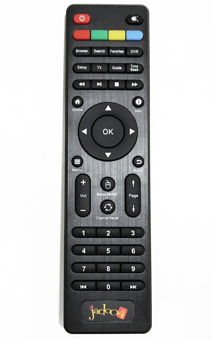 JADOO Remote Control for TV 4 IPTV Box Jadoo 4