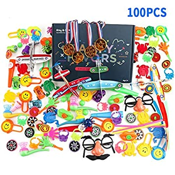 Color You 100PCS Favor de la Fiesta Juguetes para niños ...