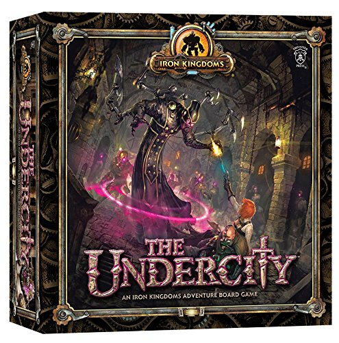 Iron Kingdoms Miniatures - Privateer Press Undercity Board Game