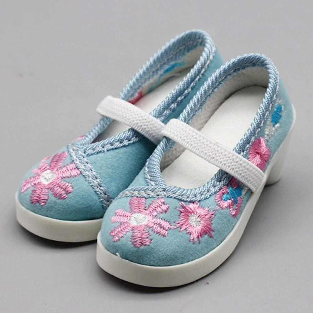 1 Paar #a Uteruik Puppe BJD bestickte Schuhe niedriger Absatz Schuhe f/ür 1//3 60 cm//24 Zoll SD Puppe Casual Outfits Kost/üm Zubeh/ör