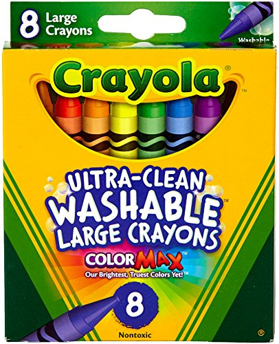Kids First Large Washable Crayons