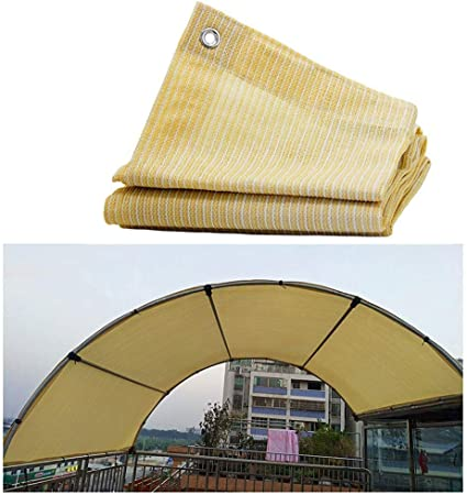 Sail Shade for Garden, Awnings Shelter Sun Shade Sail Canopy Garden Shading Net Shade Cloth 85% UV Resistant For Pergola Patio Awnings And Canopies Net Outdoor Gazebo Terrace Patio Garden Party Decora: