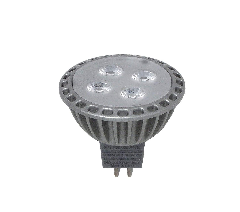 4 Watts 12V MR16 2-Pin ProjectLED UV LED Spot Light 395nm to 405nm UV Ultraviolet Black Light LED Bulb