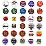 Amazon Lightning Deal 88% claimed: Crazy Cups Bold Coffee Variety Sampler Pack for Keurig K-Cup Brewers 30 Count