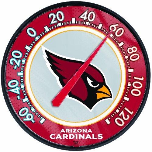 "UPC 043662108158, NFL Arizona Cardinals Thermometer, 12"" x 12"""