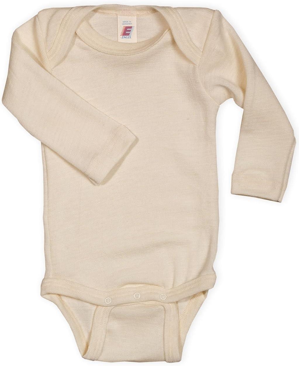 Gr Engel Natur Baby Body langarm 100/% Wolle 50//56-110//116