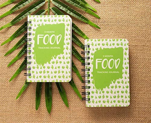 Paper Junkie 3 Pack 90 Day Meal Tracker Pocket Food Journal for Diet, Calorie Counting, Weight Loss, 5 x 3.5 Inches 5
