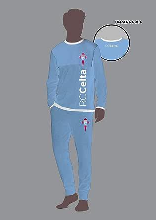 R.C. Celta de Vigo Pijama Adulto TS RC Celta de Vigo Conjuntos Azul Celeste, Small (Tamaño del fabricante: S) para Hombre: Amazon.es: Ropa y accesorios