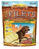 Zuke's Z-Filets Dog Treats, Savory Chicken Recipe, 3.25-Ounces