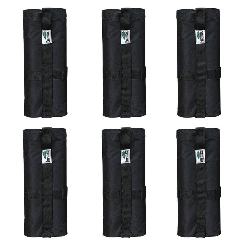 Eurmax New Weight Bags for Pop up Canopy Instant Shelter, Sand Bags, Leg Weights for Pop up Canopy Weighted Feet Bag Sand Bag, Set of 6 by Eurmax (Image #2)