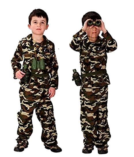 Traje militar - asalto de camuflaje - disfraces para niños ...