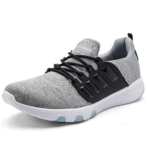 Axcone Hombre Mujer Zapatillas de Correr Casual Aire Libre Deporte Fitness Zapatillas de Running para Deportivos Entrenamiento 35-46EU: Amazon.es: Zapatos y ...