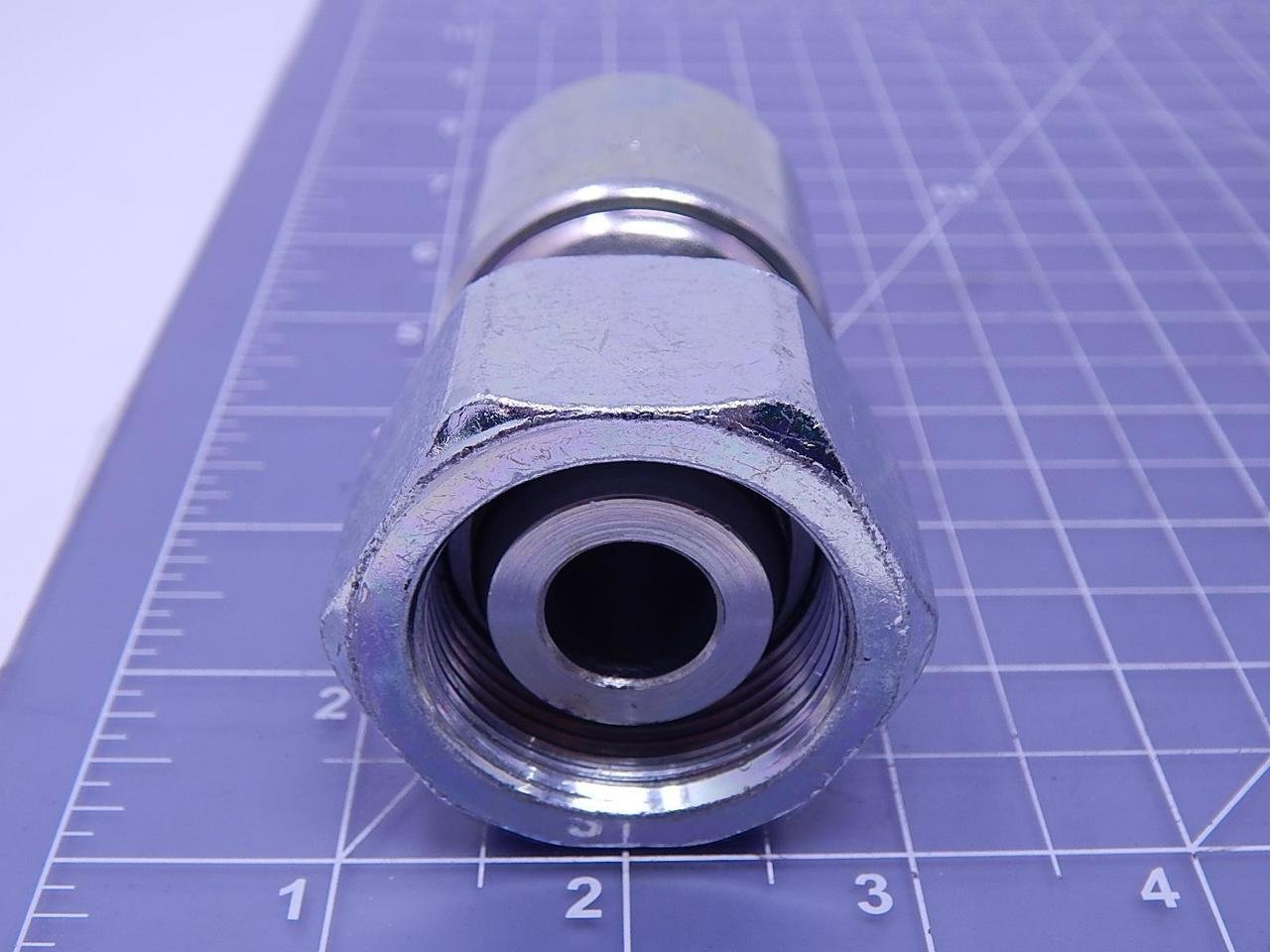 5//16-24 Thd x .091 thk Stainless QTY-10 Unicorp ECLS-0524-2 Round Captive Nut Self-Clinching