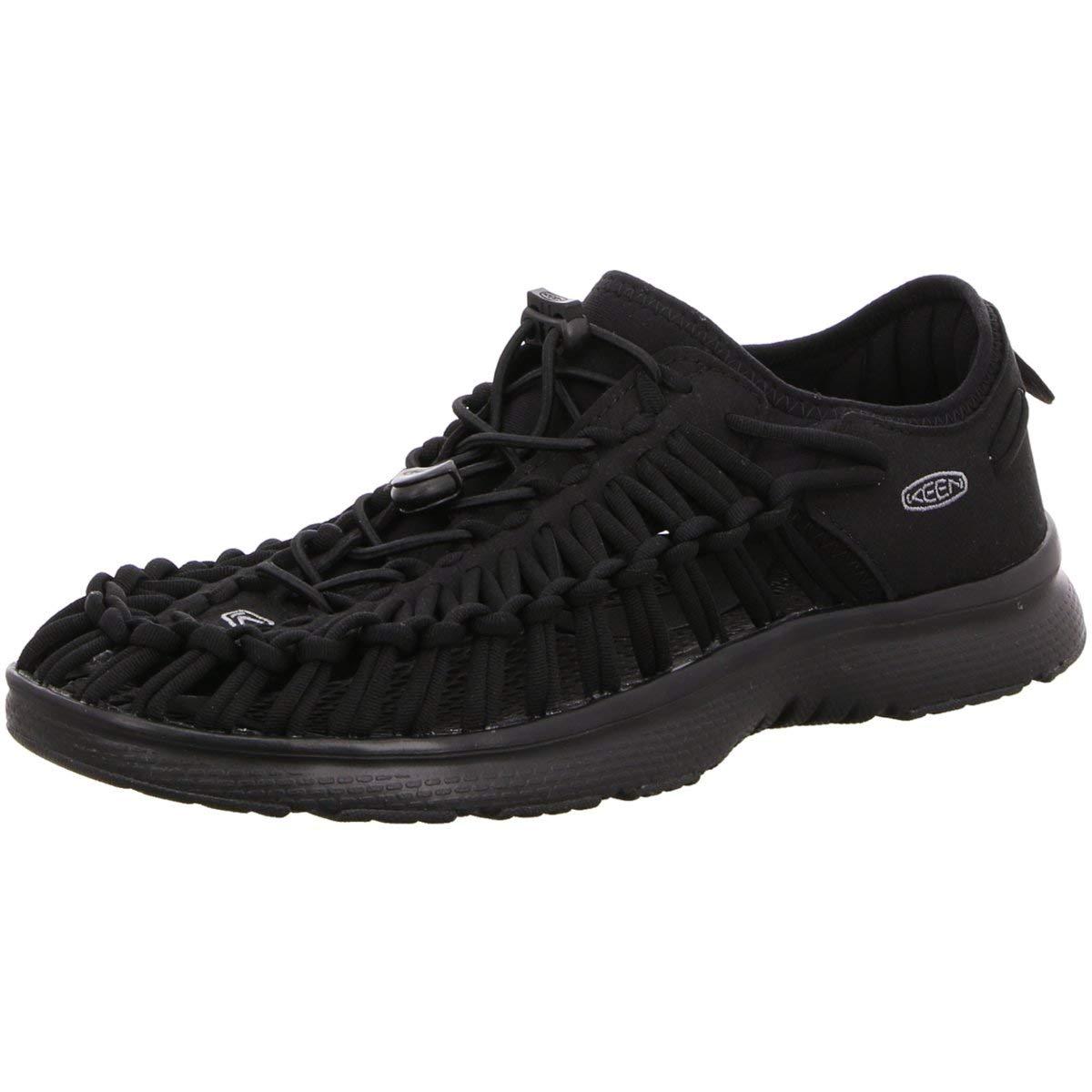 [キーン] メンズ 男性用 シューズ 靴 サンダル フラット Uneek O2 - Black/Black [並行輸入品] 7.5 D - Medium  B07C8GJ2T5