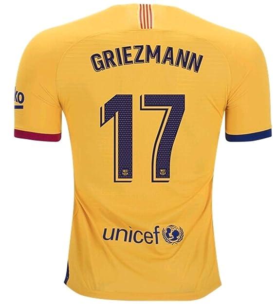 Amazon.com: Xin balery Jersey 2019-2020 Barcelona Griezmann ...