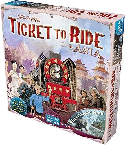 Days of Wonder- Juego De Mesa (Asmodee DOW720113): Ticket To Ride ...