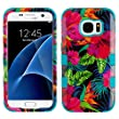 Galaxy S6 Case, Mybat Electric Hibiscus Dual Layer [Shock Absorbing] Protection Hybrid PC/TPU Rubber Case Cover For Samsung Galaxy S6 SM-G920, Multi-Color