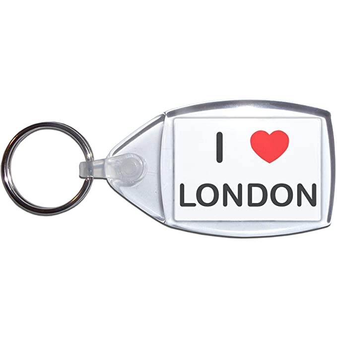 BadgeBeast.co.uk I Love London - Llavero plástico: Amazon.es ...
