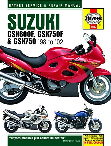 amazon com 98 02 suzuki gsx600f haynes repair manual misc rh amazon com 2006 suzuki katana 600 owners manual 2006 suzuki katana 600 manual