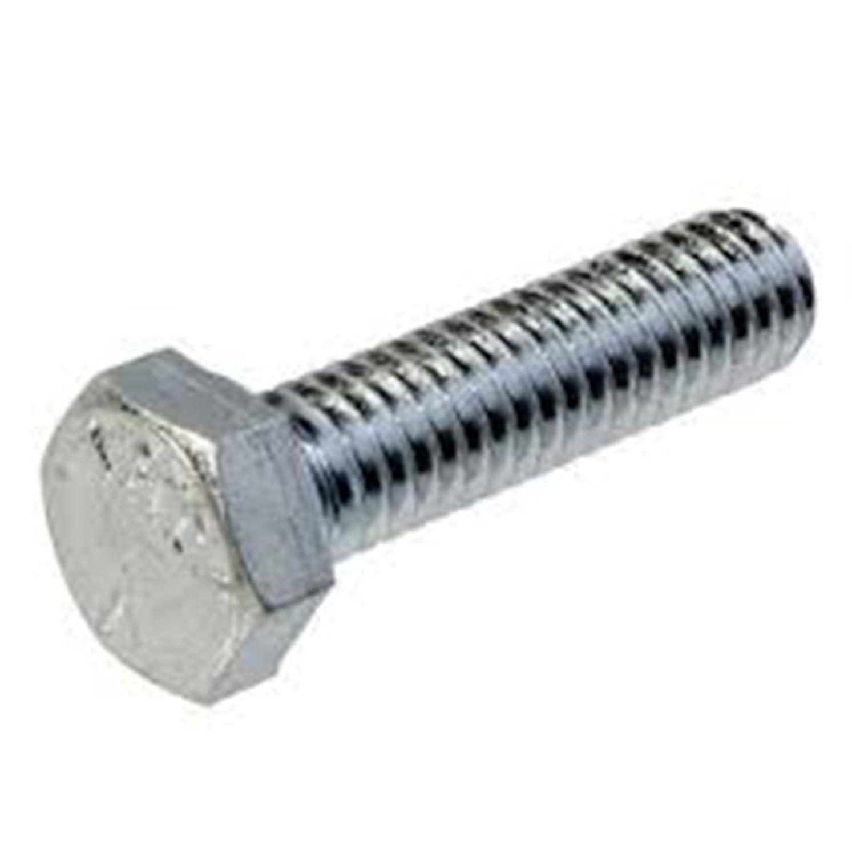 100 unidades Tornillo hexagonal din933 8.8 zincado metrico 6x20mm.