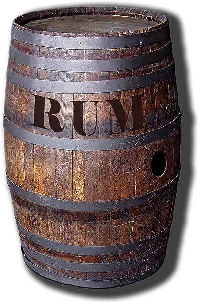 Expositor de cartón barril O Ron - Ron compartimento ...
