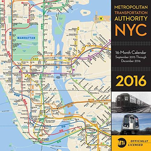 New York City Metropolitan Transportation Authority 2016: 16-Month Calendar September 2015 through December 2016