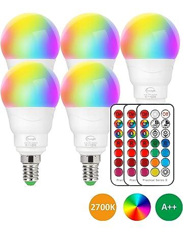viola colorati lampadina show King attacco E-27 Set 3 x lampadine a colori A19 230 V//40 W per festa illuminazione