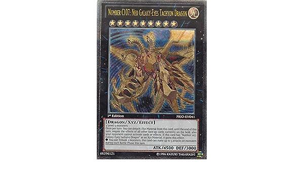 Yugioh MP19-EN188 Galaxy-Eyes Solflare Dragon Prismatic Secret Rare NM 1st Ed