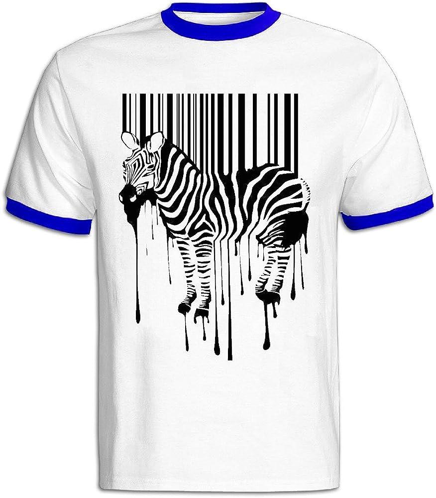 Zebra barras camiseta hombres: Amazon.es: Ropa y accesorios