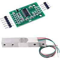 Kakiyi 1/5/10 / 20kg Piccolo Campo di pesatura sensore di Pressione e HX711AD Modulo cella di carico e HX711 Module