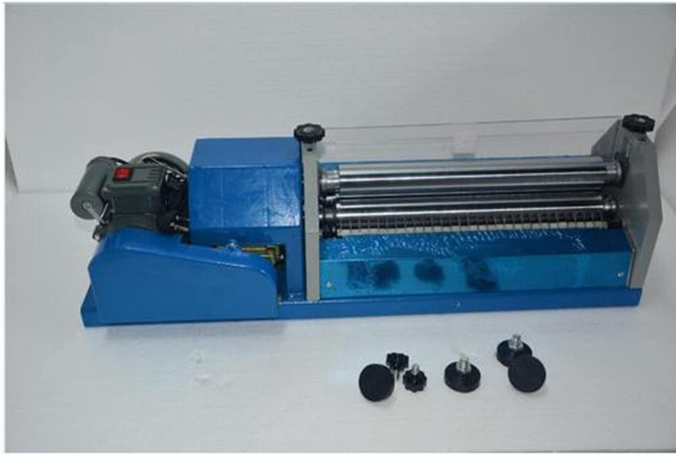 110V Automatic Gluing Coating Machine for Paper/&Leather US Shipping Brand New