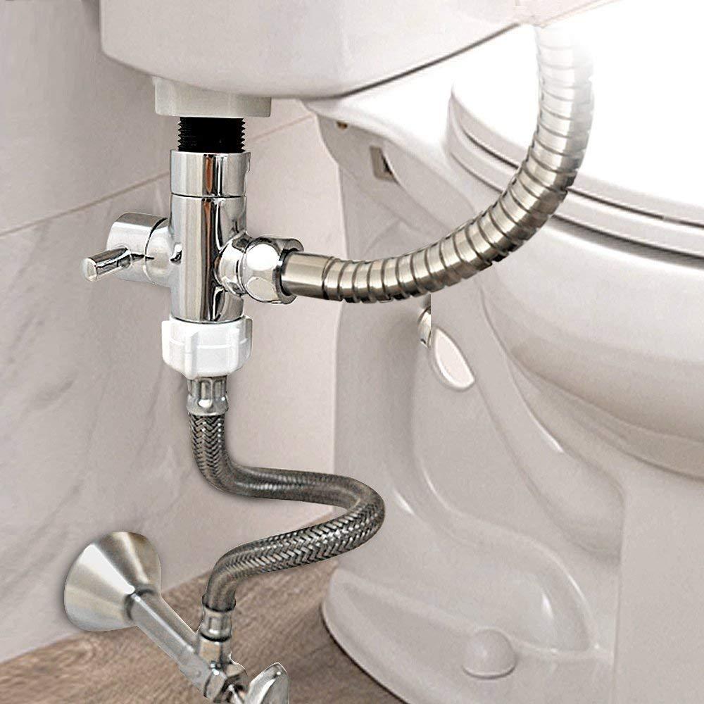 Eeieer Bidet Handbrause Premium Edelstahl Toilette Toilette Sprayer