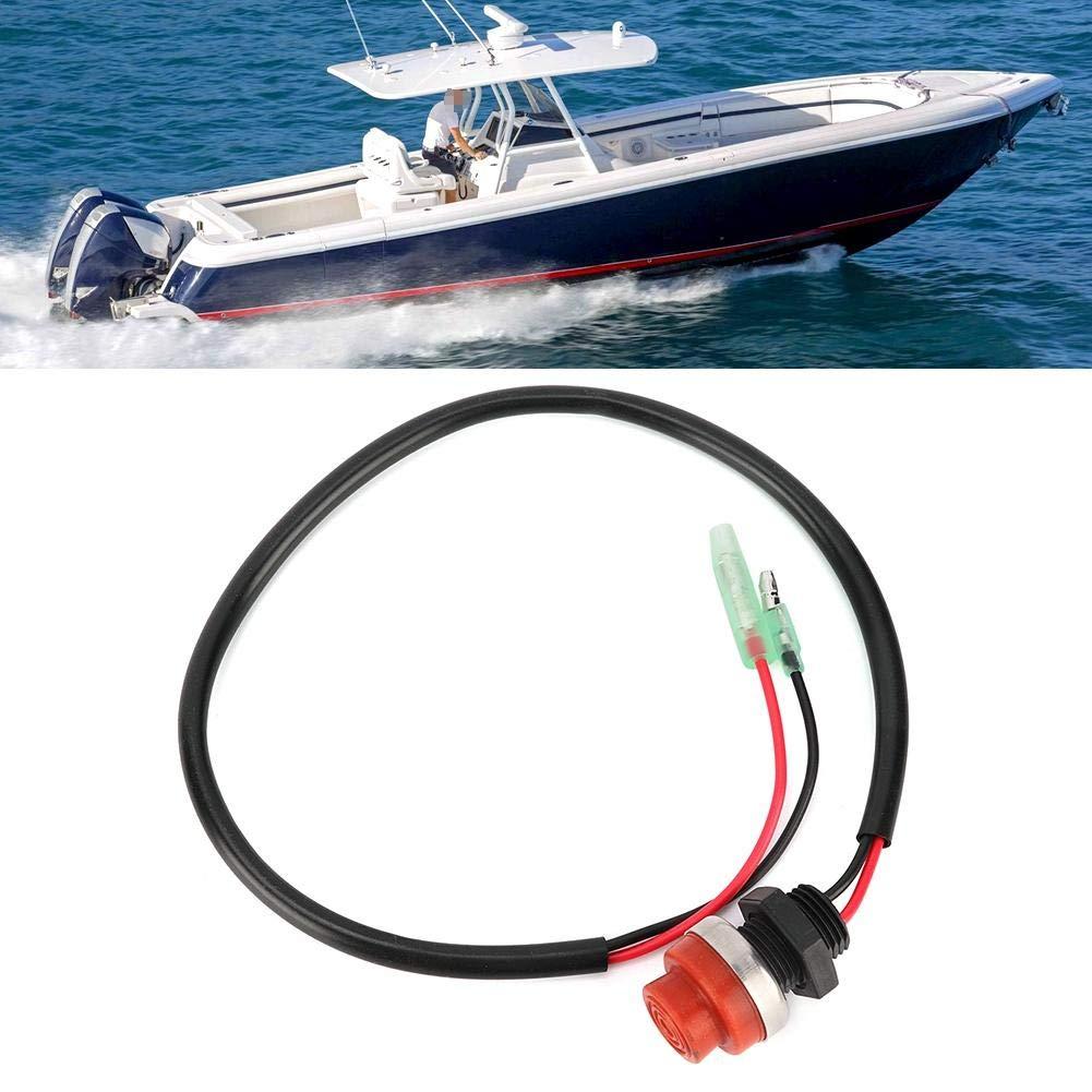 interruttore del motore fuoribordo Interruttore a pulsante senza chiave per motore fuoribordo Yatch nautico Start Interruttore di arresto