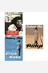 Iceberg Slim Trick Baby,Naked Soul And Pimp 3 Books Collection Set Paperback