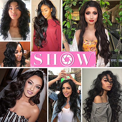 QTHAIR 10A Brazilian Virgin Body Wave 3 bundles 20'' 22'' 24'' Natural Color Unprocessed Brazilian Virgin Hair Body Wave Hair Weave Remy Wavy Wholesale Hair by QTHAIR (Image #7)
