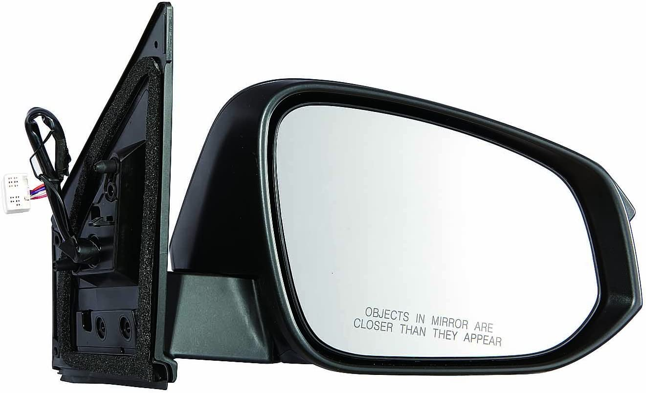 Mirror Power Textured Black Driver Side Left LH for 2015 Toyota Rav4 New