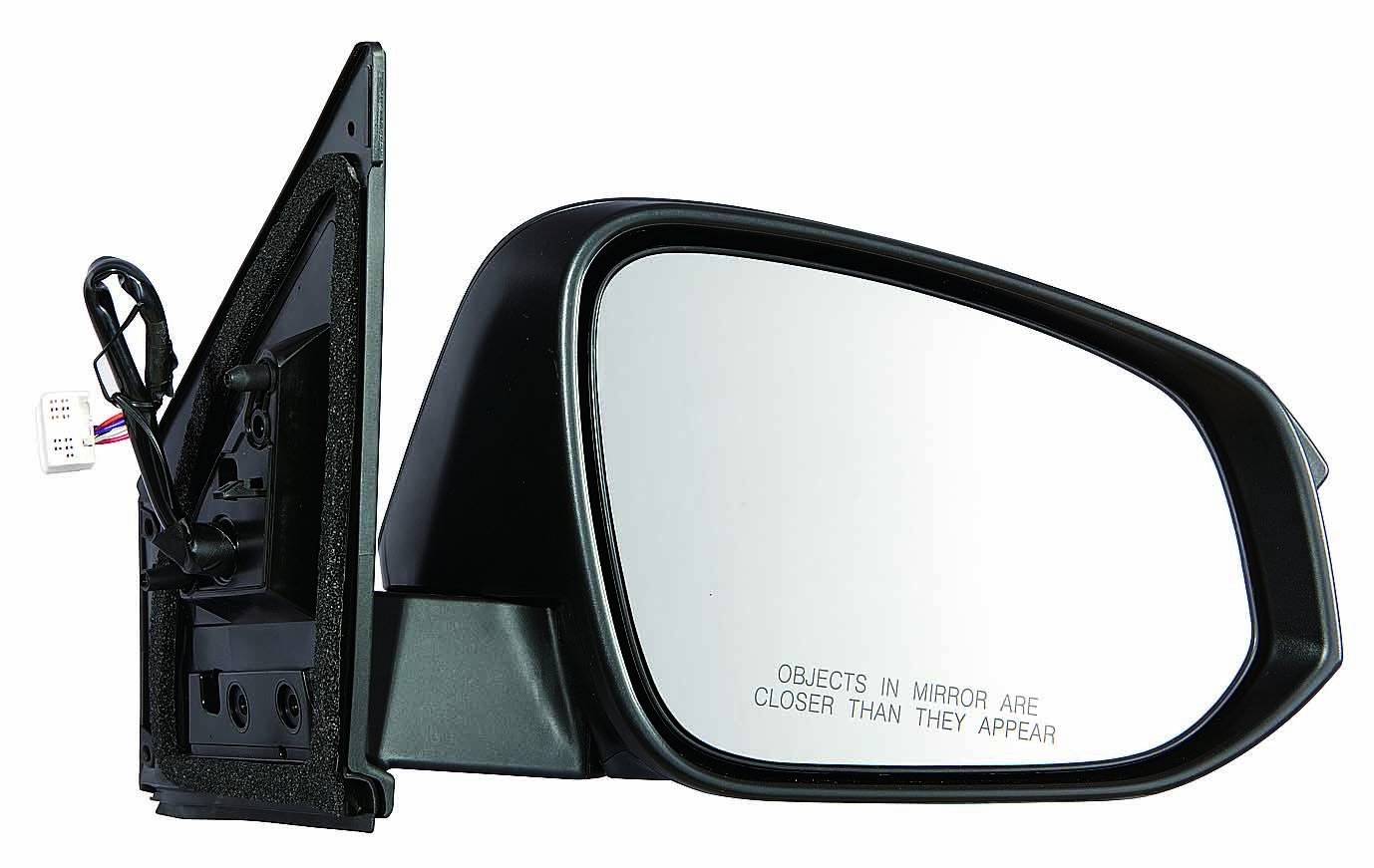 Depo 312-5431R3EFH Toyota RAV 4 Passenger Side Power Heated Mirror 13-14 With Signal Without Blind Spot Detector Paint To Match