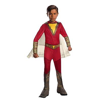 Shazam! Movie Child's Shazam Costume, Small: Toys & Games