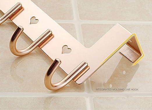 Amazon.com: rzdeal sobre la puerta ganchos percha de ropa ...