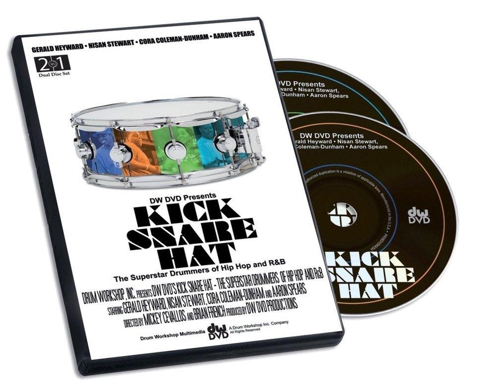 0722aa39 Méthodes et pédagogie DW Drum Workshop DVD KICK SNARE HAT Batterie ...