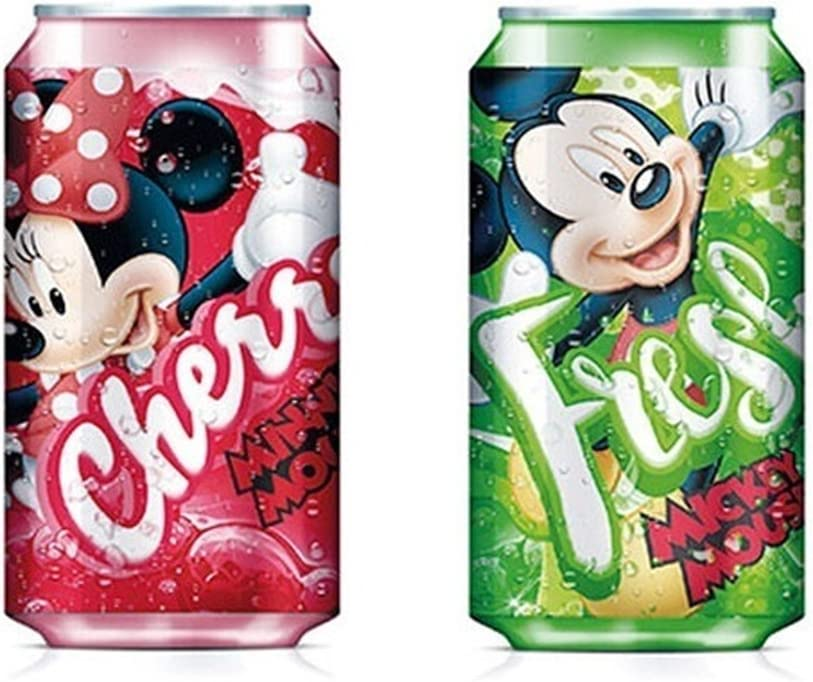 15x10x5 cm Estampado Mickey Mouse//Minnie Mouse Kids Euroswan Cantimplora Termo Multicolor modelos surtidos Pl/ástico