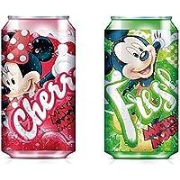 Kids Euroswan Cantimplora Termo, Estampado Mickey Mouse/Minnie Mouse