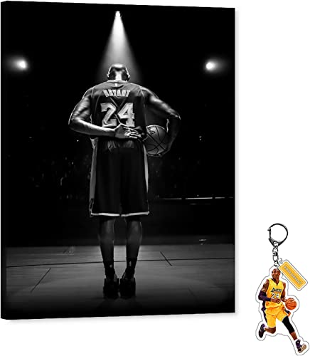 Kobe Canvas Wall Art Perfect Curtain Call Goodbye Bryant Picture Basketball Star Forever Legend Art Work