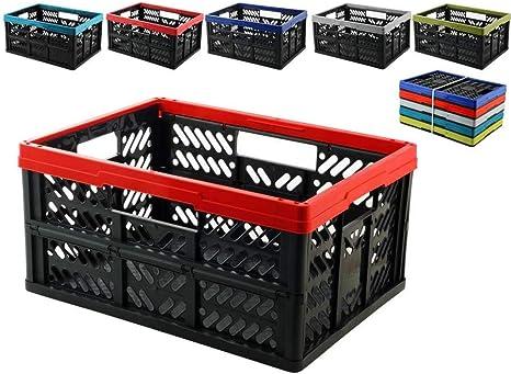 HOME Caja plegable , colores surtidos, 1 unidad: Amazon.es: Hogar