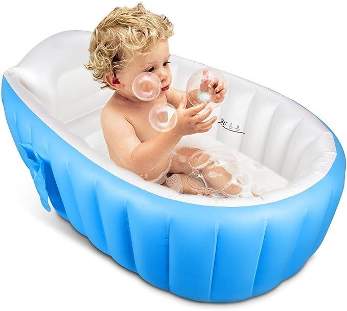 Bañera Hinchable, Topist Bañera Hinchable Para Recién Nacidosbebés ...
