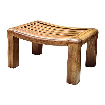 ZEMIN Hocker Solide Holz für Kinder Erwachsene Esszimmer Wohnzimmer ...